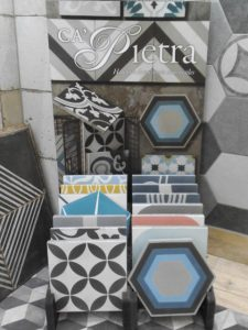 Ca'Pietra encaustic tiles in York