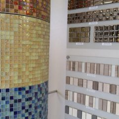 York Mosaic Tiles display