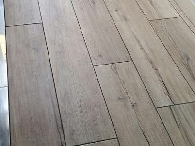 Light Oak Wood Effect Floor Tiles in York