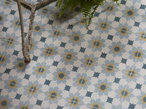 CaPietra Tangier Encaustic Tiles