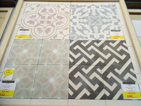 Encaustic Style Tile Selection York Discount Tile Depot