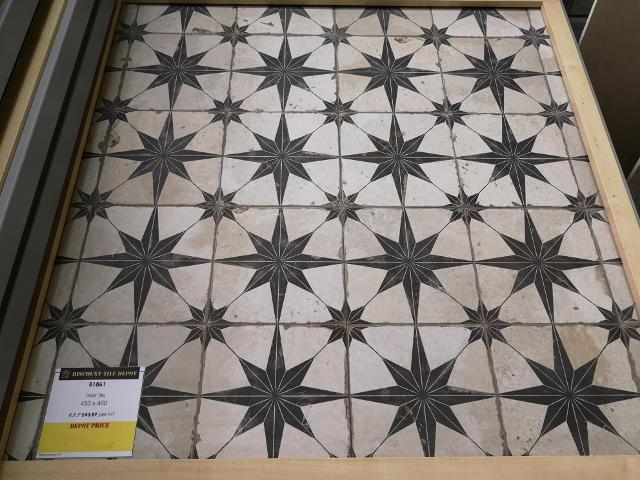 Encaustic Style Tile B01861