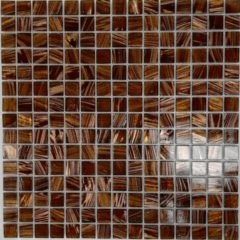 Glitter Bronze Jewel Mosaic Tile